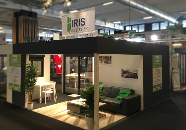 on vous attend la foire de paris hors s rie maison iris fenetres. Black Bedroom Furniture Sets. Home Design Ideas