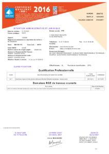 Certificat RGE IRIS FENETRES