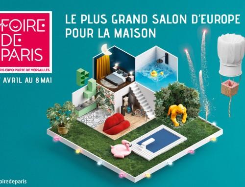 Retrouvez le Stand IRIS Fenêtres sur la Foire de Paris du 27 Avril au 8 Mai 2018